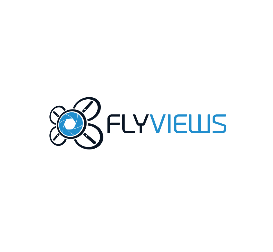 Fly Views Logo by Joel Riddell Creative