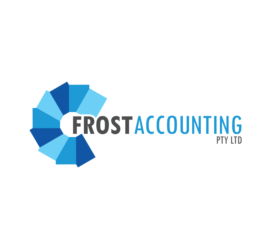 Frost Accounting Logo by Joel Riddell Creative