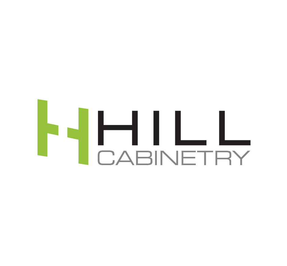 Hill Cabinetry Logo by Joel Riddell Creative