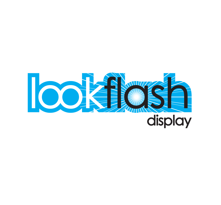 Lookflash Logo by Joel Riddell Creative