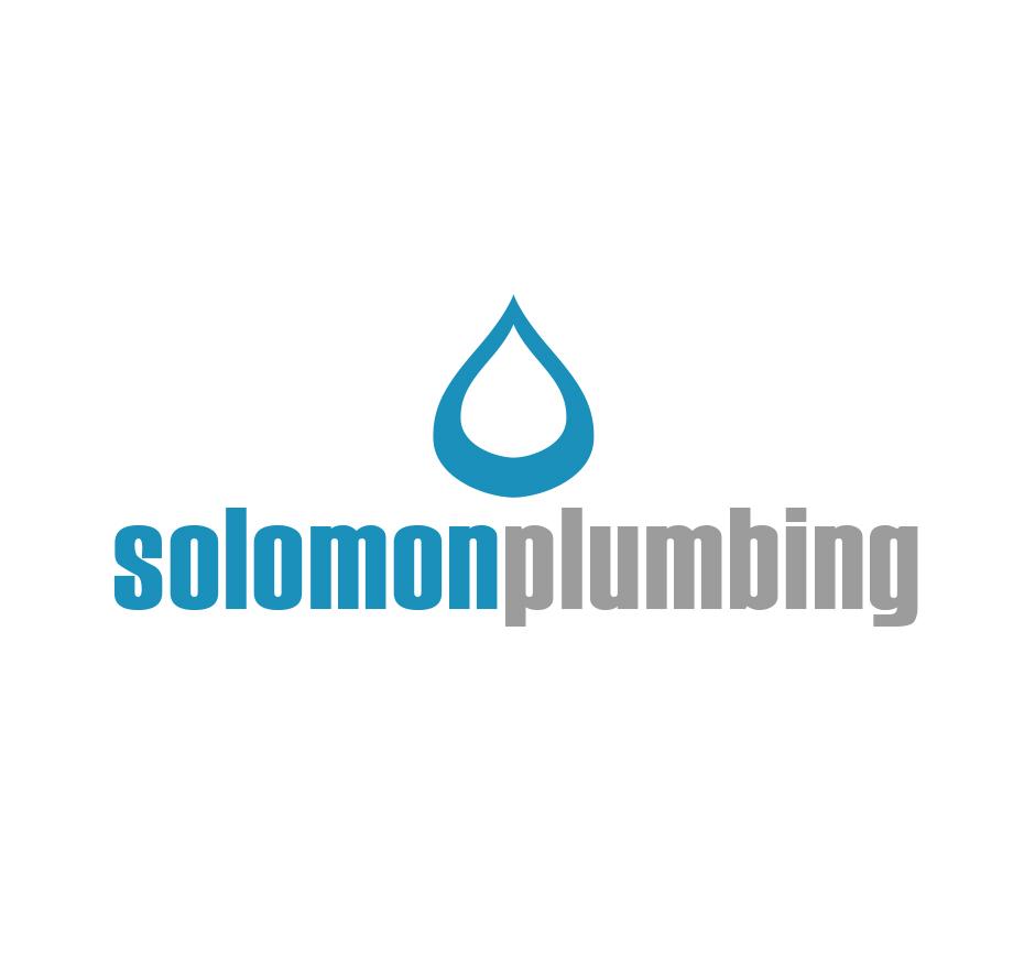 Solomon Plumbing Logo by Joel Riddell Creative